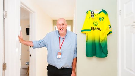 Jochen Self has converted his home at Mulbarton into a care home. Picture: Ian Burt Photography