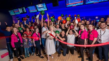 Hollywood Bowl when it was launched after a major refurbishment in 2017. Pic: Archant