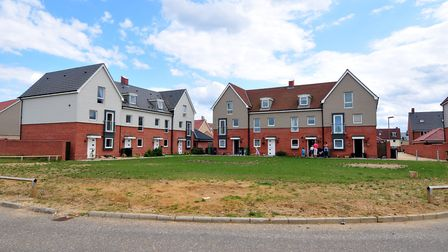 Queen's Hill development in Costessey. Picture: Nick Butcher