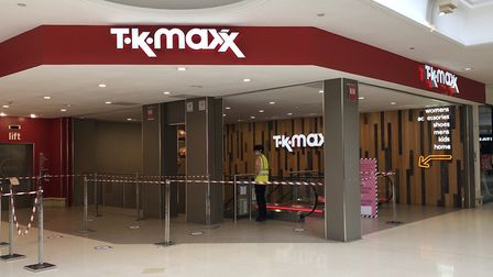 TK Maxx in Norwich has reopened. Picture: Archant
