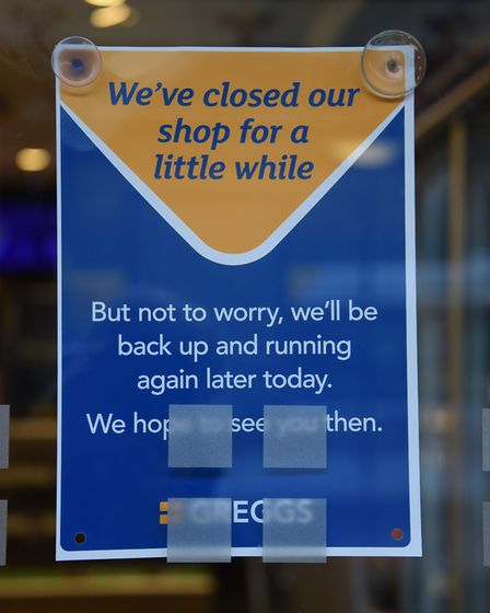 Greggs shop in St Stephens opening delayed due to an IT problem with the tills. Picture: DENISE BRAD