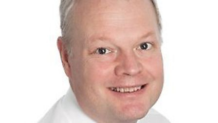 Sam Higginson, the new chief executive at the Norfolk and Norwich University Hospital. Photo: NNUH