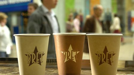 The Pret A Manger store in Norwich's Chapelfield shopping centre is to close Picture: Archant