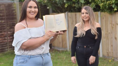 Jess Ellis reached out to find Danielle Bissmire after finding Danielle's copy of Harry Potter and