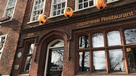 Shiki Japanese restauranton Tombland in Norwich. Photo: Neil Perry