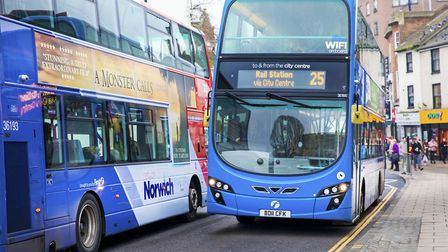 First buses are ready to put £18.8m into the pot if the bid is successful. Picture: Edward Starr