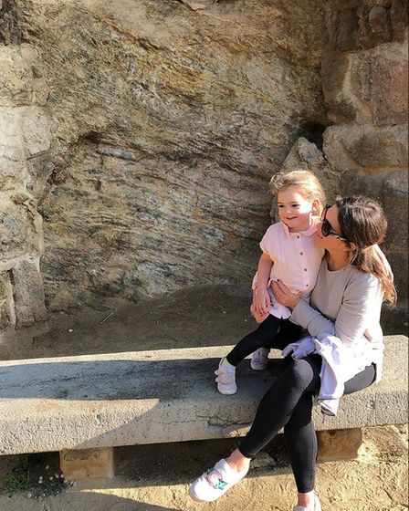 Emma Biggie and her daughter Isamaya. Pic: submitted