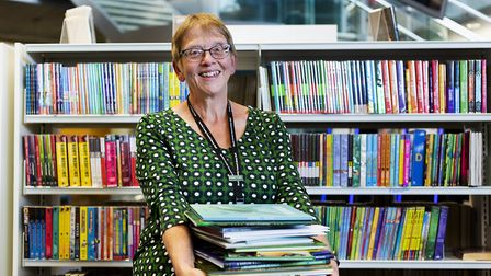 Jan Holden, head of Norfolk Library and Information Service. Picture: Hannah Hutchins/National Centr