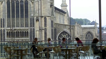 Pizza Express and Café Bar Marzano in The Forum will reopen to customers on July 9. Picture: Archant