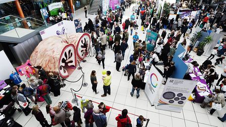 Norwich Science Festival due to take place at the Forum in October has been cancelled. Picture: Anto
