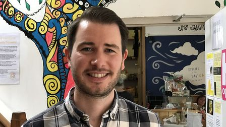 Tom Gaskin has launched a Crowdfunder campaign so KindaKafe in Norwich can reopen with social distan
