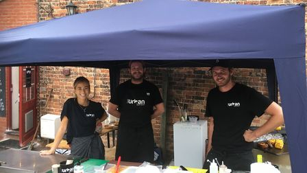 Freddie Griggs and the The Urban Eatery team at the Fat Cat and Canary. Picture: Archant