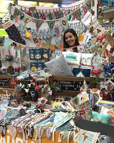 Claudia Rumford of 'Claudia's Buntings. Picture: Norwich Global Village Market