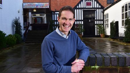 Jez Pike, artistic director at The Maddermarket Theatre in Norwich is calling for support from Arts