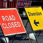 Salhouse Road in Sprowston remains closed as work on a water scheme contiunues. Picture: Archant