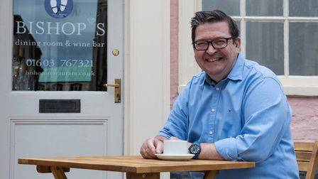Alessandro Tranquillo, owner of Bishop's in Norwich. Pic: Shane Finn