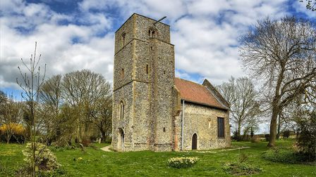St Mary's Church in Houghton on the Hill, near Swaffham. Picture: Jeremy Whigham