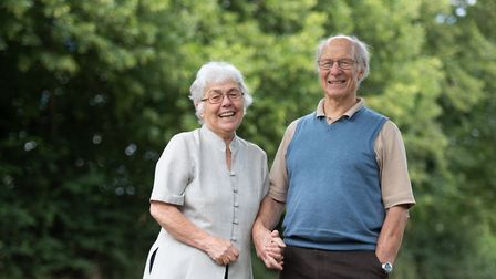 Ceinwen and Ian Thomas are celebrating their 60th wedding anniversary Picture: SARAH LUCY BROWN
