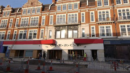 Mercy Nightclub in Norwich, which is being converted into flats. Picture: Nick Butcher.
