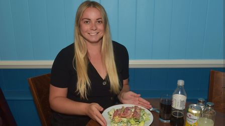 Logan's Restaurant Norwich taking part in the Eat Out To Help Out Campaign.Reporter, Jessica Long P
