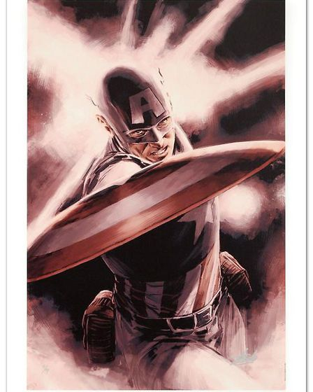 Captain America Theater of War- A Brother in Arms by Mitchell Breitweiser. Picture: Washington Green