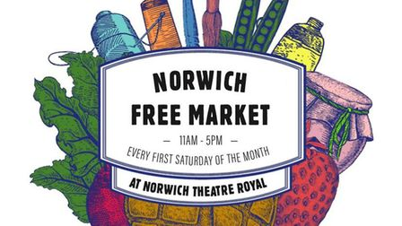 Norwich Free Market begins on August 8 at Norwich Theatre Royal car park. Picture Norwich Free Marke