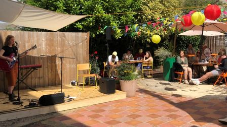 The Bowling House is running live music and comedy events in the garden this summer Picture: The Bow
