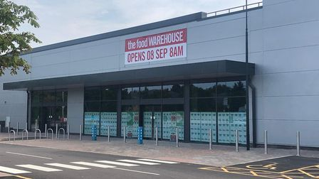 A new The Food Warehouse is set to open in Hall Road on September 8. Picture: Staff