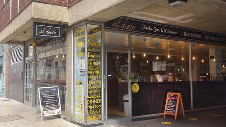 Al Dente has been open in St Giles Street since 2017. Pictures: BRITTANY WOODMAN