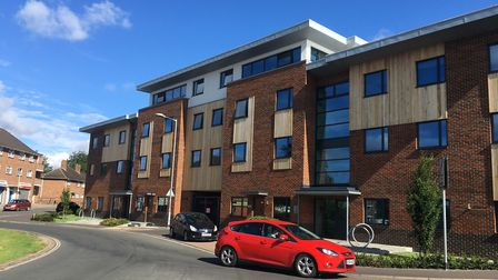 Shoemaker Court, where an extension could be built to the student homes. Pic: Dan Grimmer.