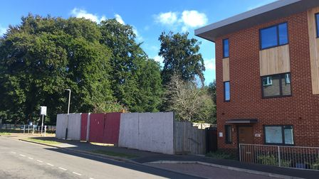 If granted permission, the extension would be built next to the existing Shoemaker Court. Pic: Dan G