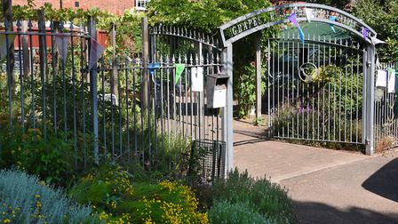 The Grapes Hill Community Garden in Norwich, has reopened to the public following lockdown and is ho