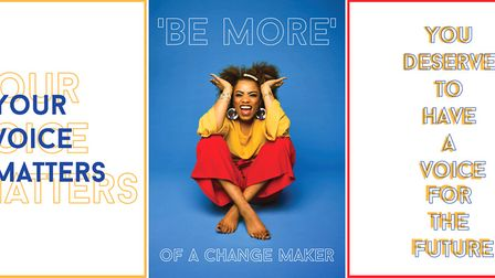 """Beth O'Boyle, BA Fashion Communication and Promotion - featured in Grazia for her """"Be More"""" change c"""