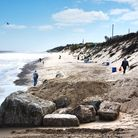 Hemsby remains undefended despite a series of surges which have claimed clifftop chalets Picture: A