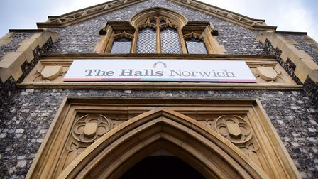 St Andrews Hall, and Blackfriars Hall, known together as The Halls, could be refurbished. Picture: D