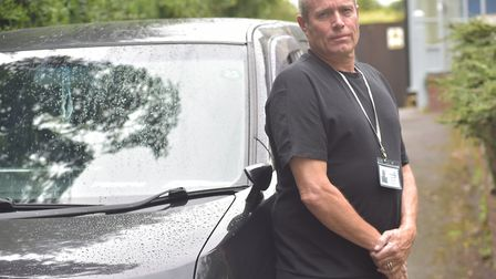 Steve Pyne is disputing a parking ticket issued to him during lockdown. Photo: Sonya Duncan/Archant