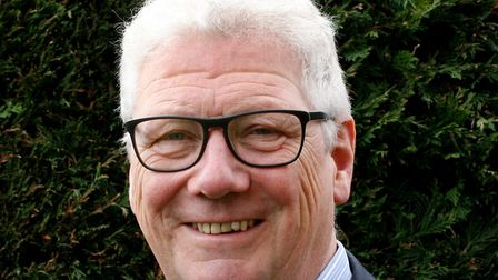 Bill Couzens, deputy chair of Sprowston Town Council. Picture: Bill Couzens