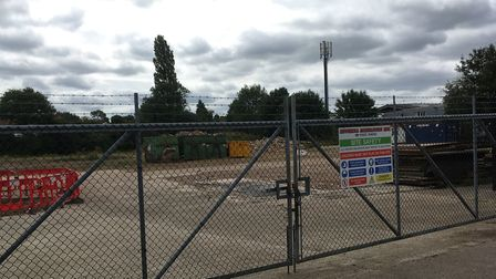 The former WS Lusher and Son site off Lusher's Loke, Sprowston, Norwich, which was bought by Mitchel