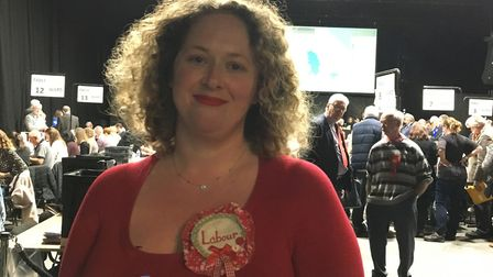 Natasha Harpley who reprsesents Sprowston Central Ward on Broadland District Council. Picture: Betha