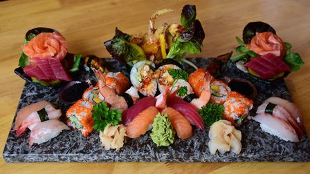 Ciscoe's Pan Asian and Sushi restaurant in Ber Street. The Sushi. Picture: DENISE BRADLEY