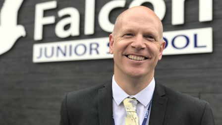 Edward Savage, the fifth and current headteacher of Falcon Junior School in Sprowston. Picture: Neil