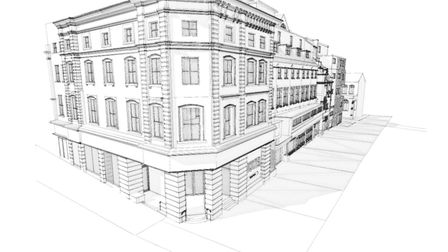 How the new hotel in Norwich city centre will look. Pic: submitted/CAM Architects