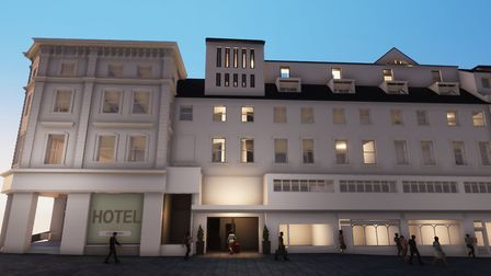 How the new hotel in Norwich city centre could look. Pic: submitted/CAM Architects