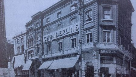 The property when it was the Chamberlin's department store. Pic: Archant