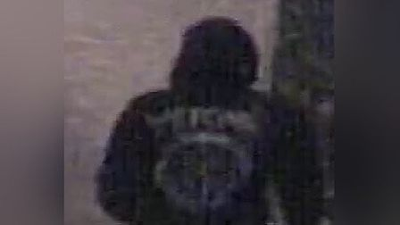 CCTV image of person in relation to criminal damage on Rouen Road in Norwich. Picture: Norfolk Polic