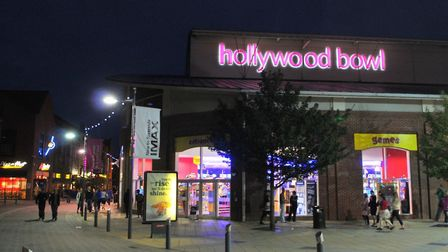 Hollywood Bowl in Norwich's Riverside. Pic: Archant