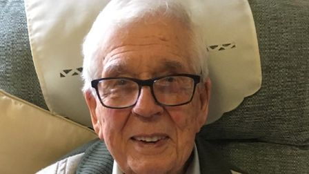 Former RAF serviceman Rouse Voisey, from Costessey, Norwich, who was a Japanese Prisoner of War in t