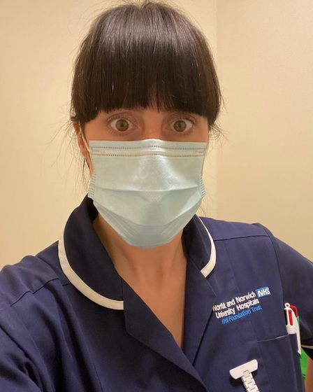 Sue Gee, who works at the NNUH, also works part time with the EAAA after care team. Picture: EAAA