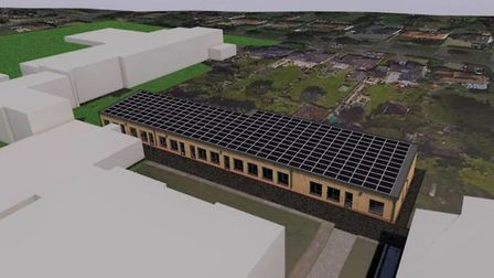 City of Norwich School is seeking permission for a new sixth form block. Picture: Ormiston Academies