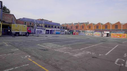 The event in the car park at St Mary's Works will feature food and drink vendors Supplied by AfterDa